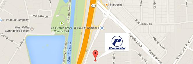 Google Map to Panavia, LLC