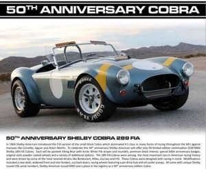 50th Anniversary Cobra