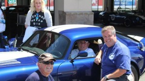Bob Bondurant with Panavia Daytona